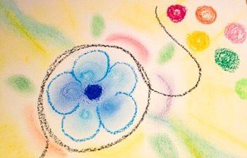 アートセラピーやカラーセラピーでは「対面」ではなく「伴走」することが大切です