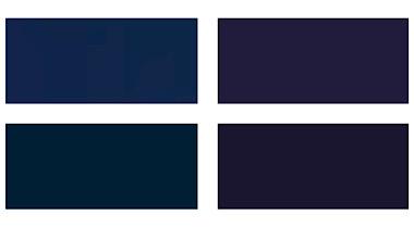 パーソナルカラーシーズン別のネイビー(紺)/スプリング・ライトインディゴ、サマー・ソフトネイビー、オータム・ウォームインディゴ、ウィンター・ダークネイビー