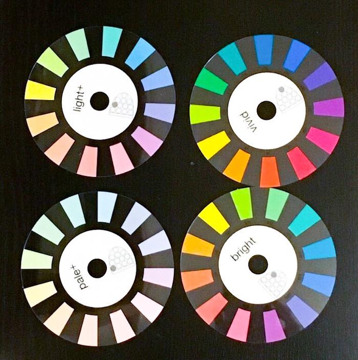 カラーのおすすめ道具「PCCSカラートーンサークル」