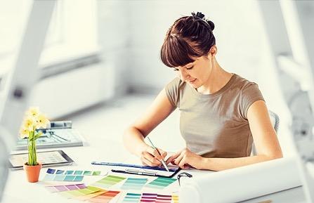 色彩検定の勉強の中に、カラーを仕事にするヒントがあります